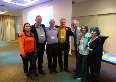 November 2015, A day with Sir Richard Bowlby: the HACP committee and administrator with Sir Richard Bowlby