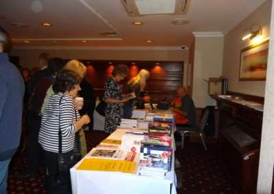 Conference 2013: At the October Books stall