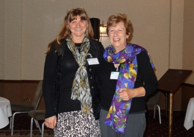 Conference 2013: organisers and committee members Diane Hardiman and Jacqueline Holloway